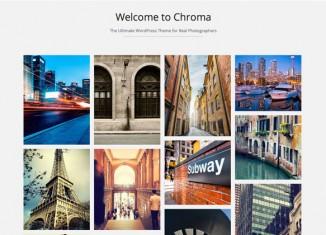 Chroma Wordpress Theme Preview