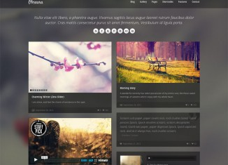 Obscura WordPress Theme Featured Img