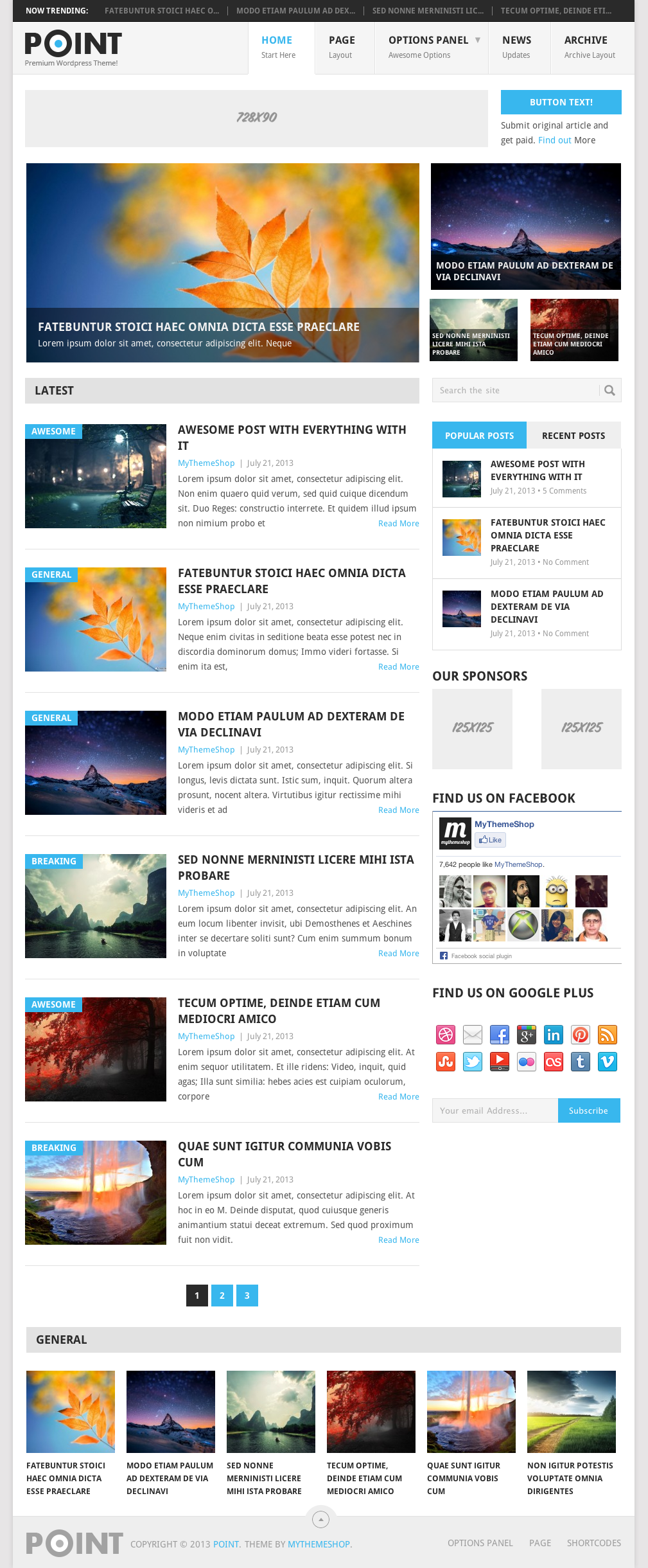 Point WordPress Theme FREE Download