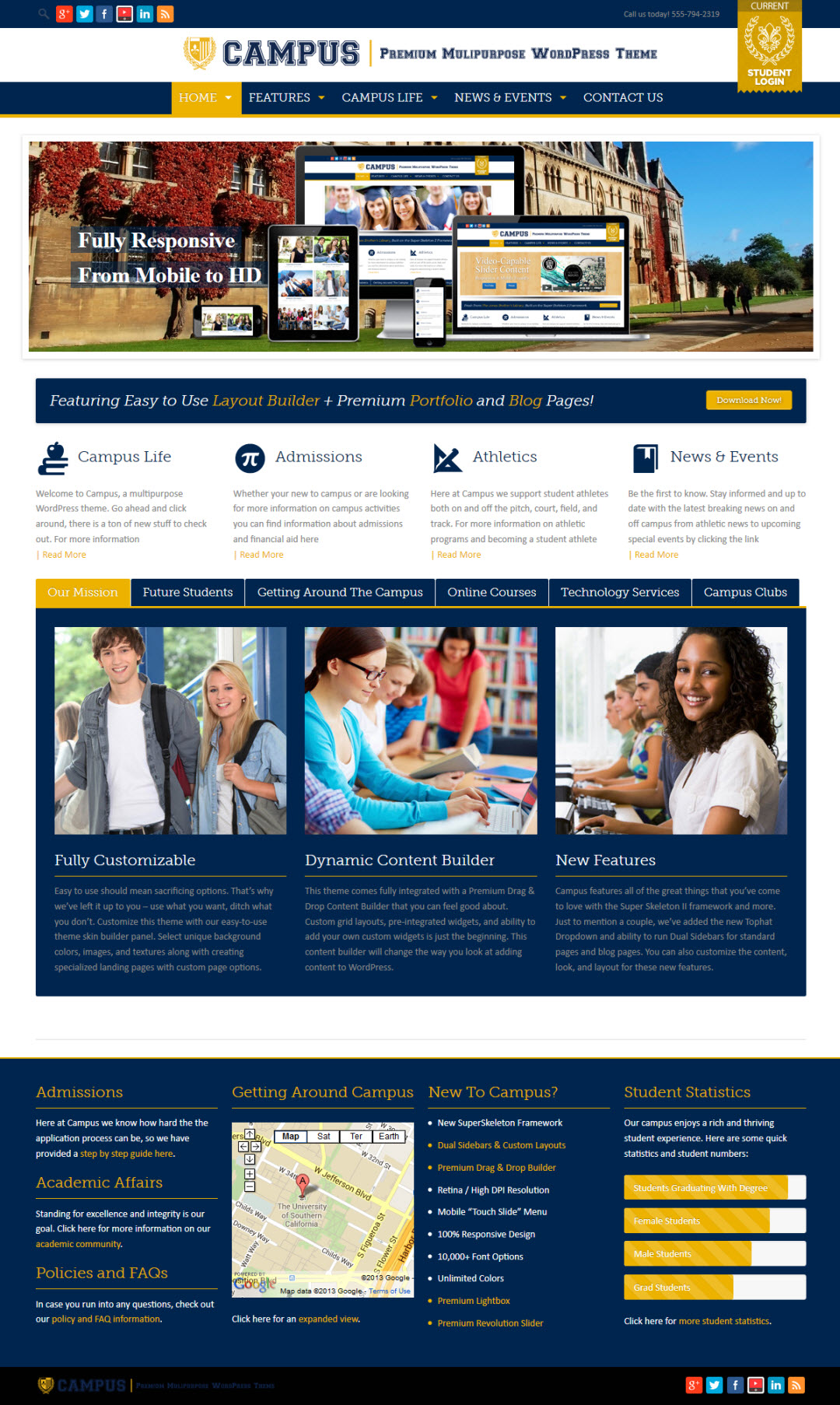 Campus WordPress Theme