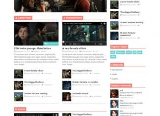 Discover WordPress Theme - Magazine News Theme