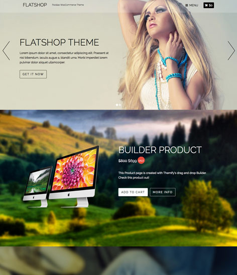 FlatShop WordPress Theme Themify