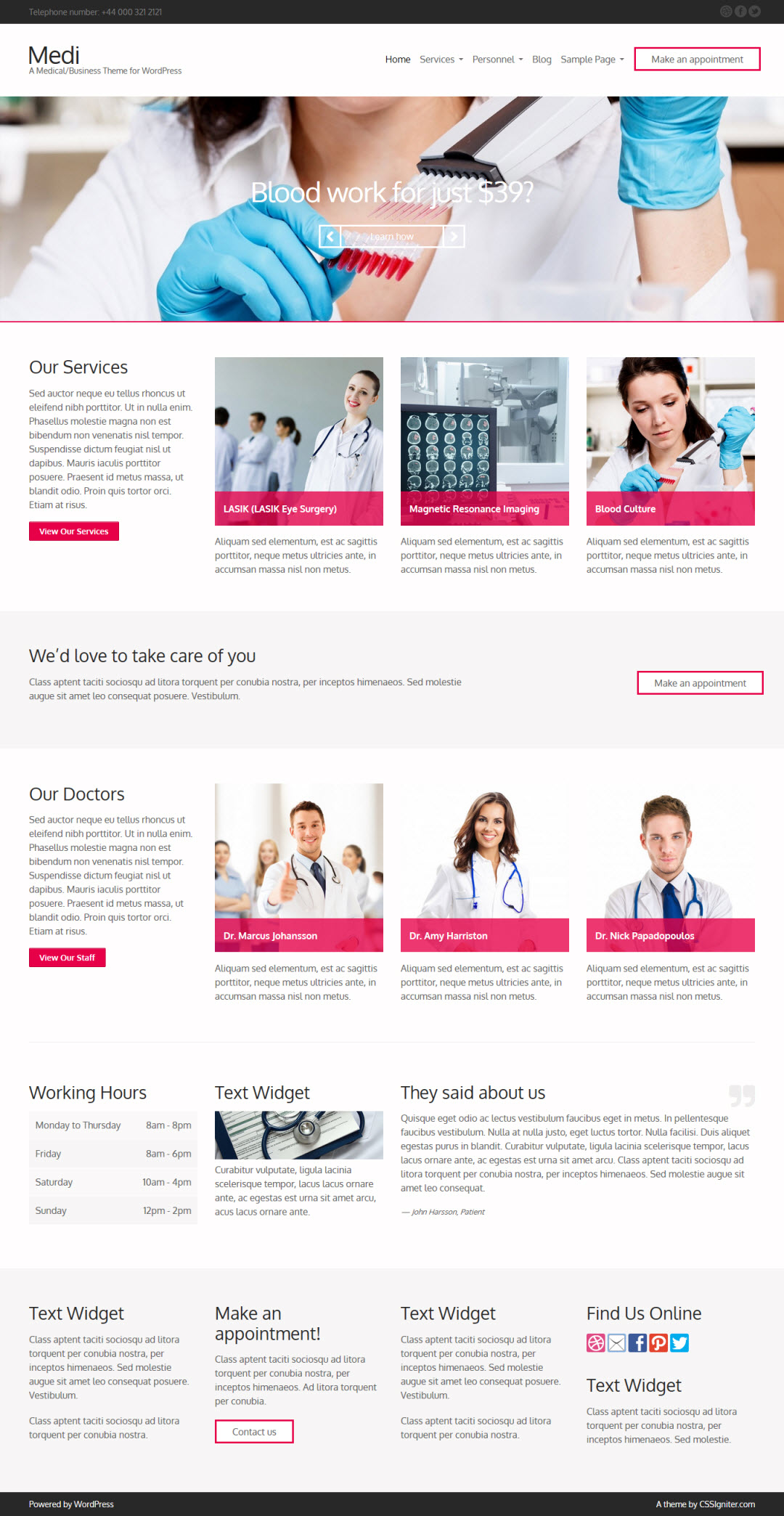Medi WordPress Theme