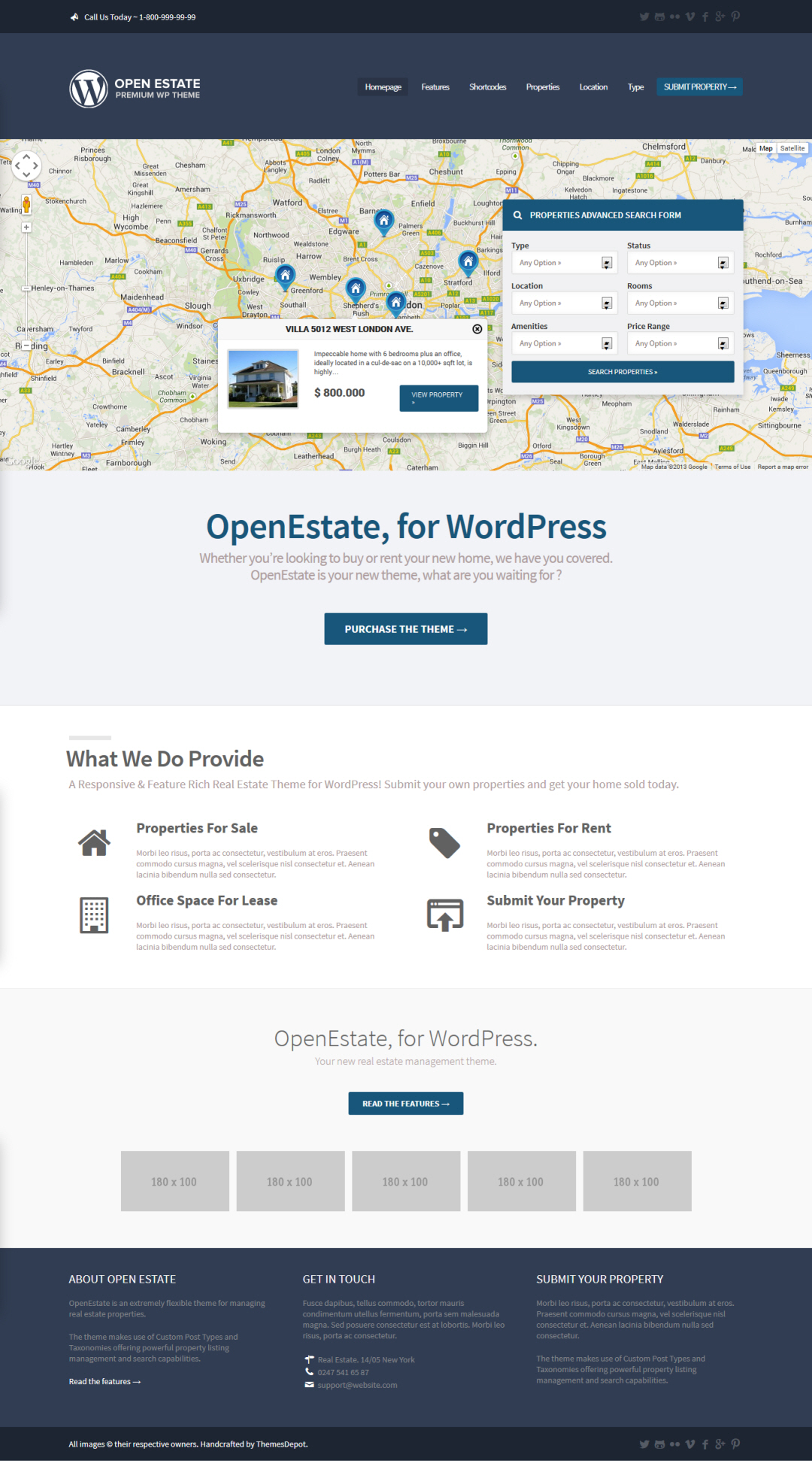 OpenEstate WordPress Theme