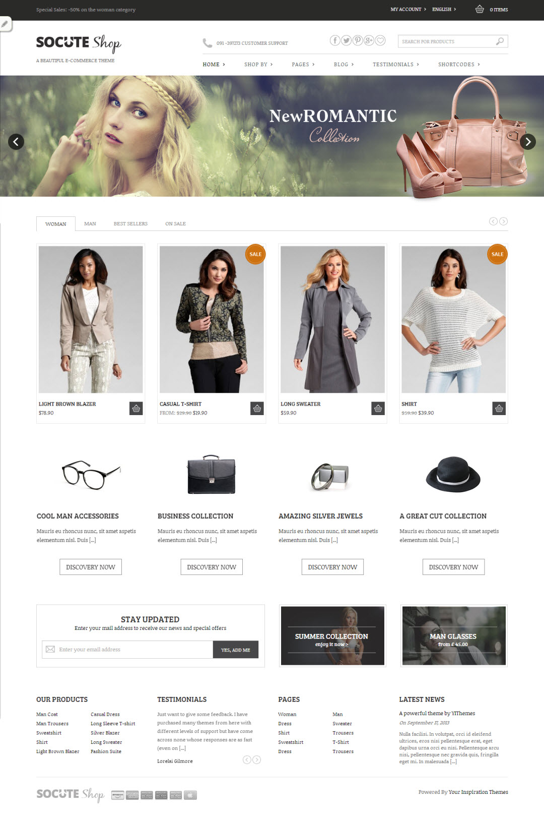 Socute Wordpress Theme Free Shop Woocommerce Smashthemes