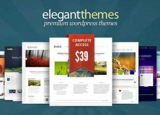 Elegant Themes Coupon WordPress Themes
