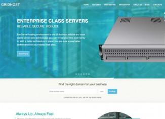 WordPress Web Hosting Company Theme