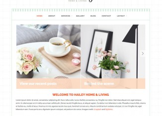 Hailey WordPress Theme by BluChic