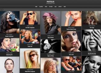 PhotoLux WordPress Theme Photographers