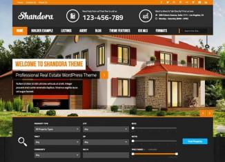 WordPress Real Estate Theme Car Dealership Theme