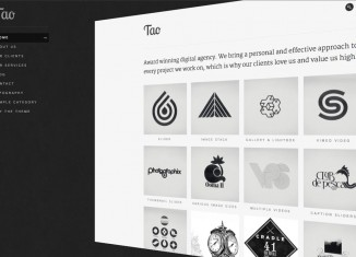 Tao Creative Grid Portfolio WP Theme