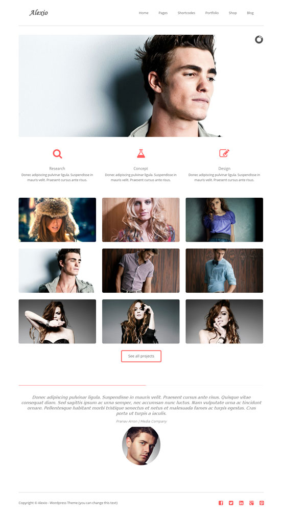 Alexio WordPress Theme
