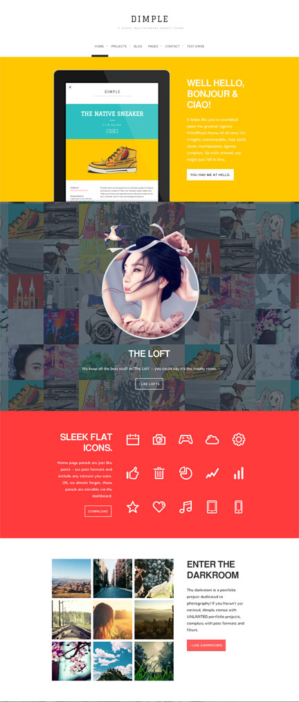 WordPress Art Theme WordPress Artist Portfolio Theme