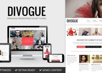 Divogue - Multipurpose GORGEOUS WP Business Theme