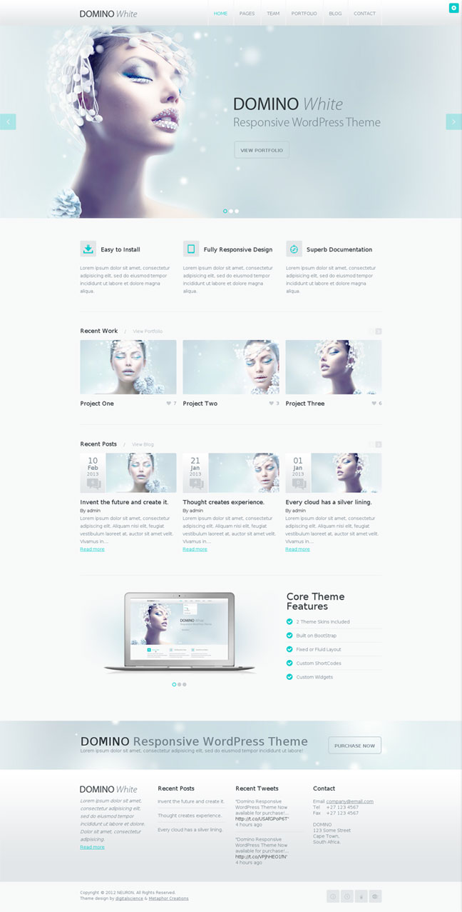 Best WordPress Portfolio Themes 2013
