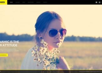 Exposed WordPress Theme Photography