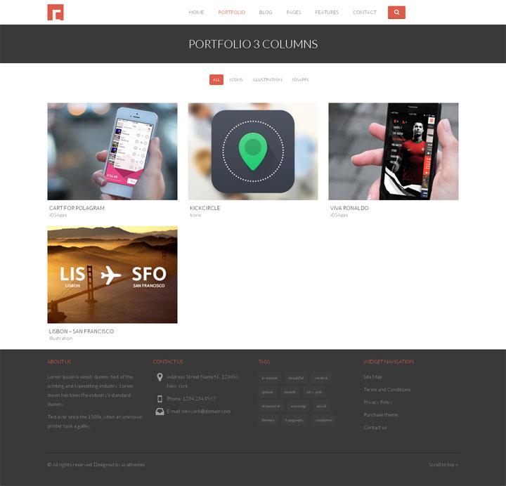 Portfolio Multipurpose WP Theme