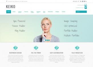 Customizable WordPress Portfolio Theme