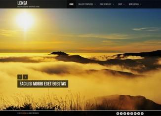Lensa Free Premium WordPress Theme Photography