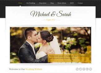 responsive wedding marriage theme wordpress