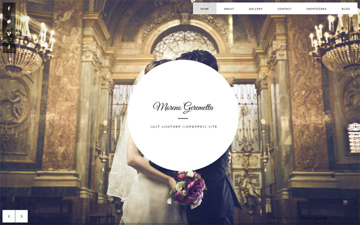 Moreno WordPress Theme