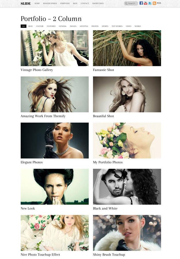 Photography WordPress theme for Photographers