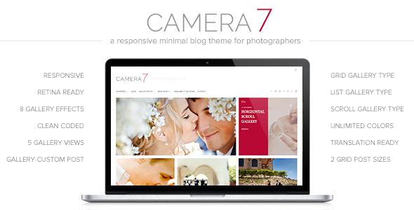 Camera 7 WordPress Theme