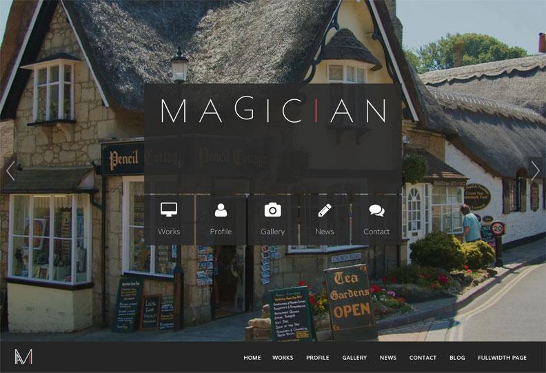 Magician WordPress Theme