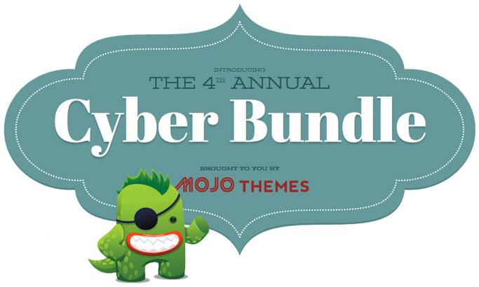 mojo themes cyber monday cyber bundle deal - wordpress themes