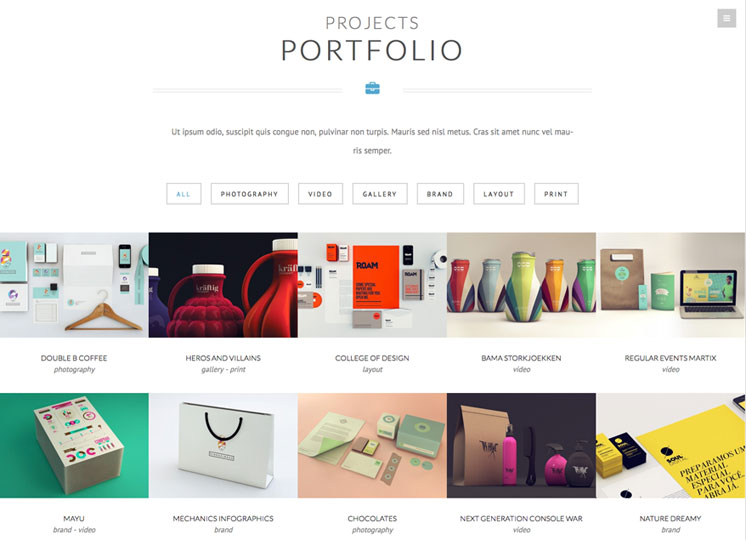 Nervaq photography theme