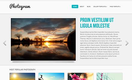 Photogram Free Photography WordPress Theme