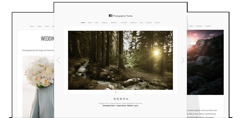 Photographer Theme for WordPress