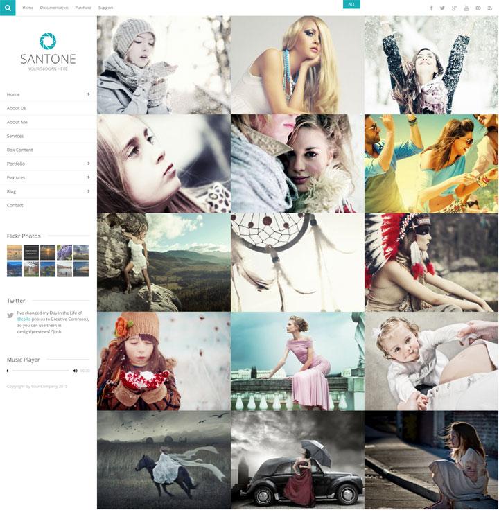 Santone WordPress Theme