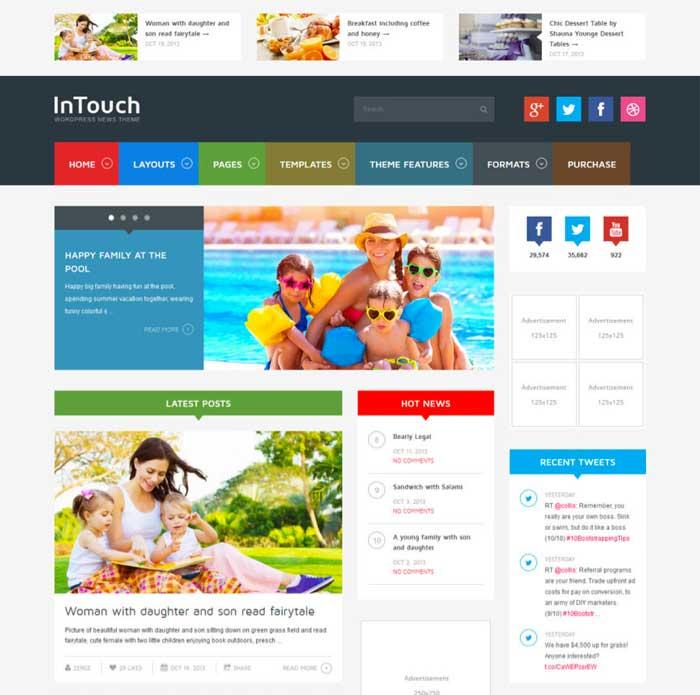 InTouch WordPress Theme