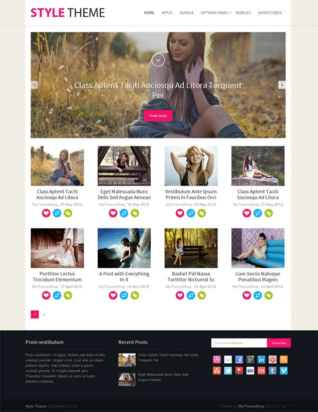 Style WordPress Theme MyThemeShop
