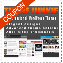 Theme Junkie Coupon Code Promo