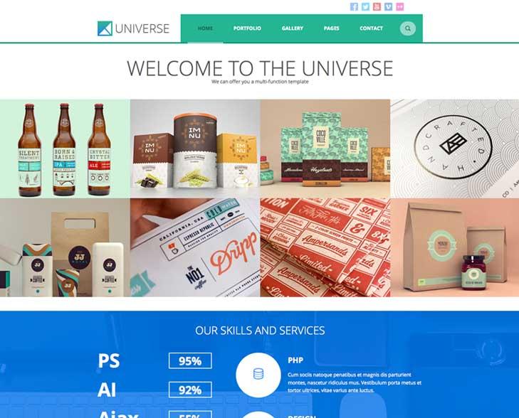 Universe WordPress Theme TeslaThemes Download