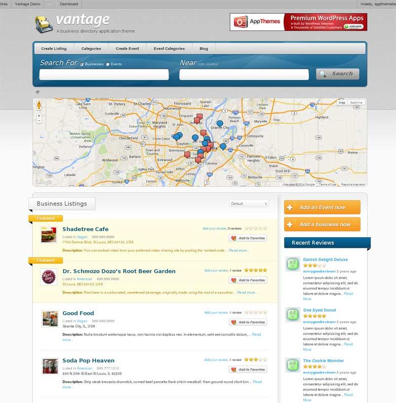Vantage WordPress Theme Download