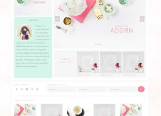 Adorn WordPress eCommerce Boutique Theme