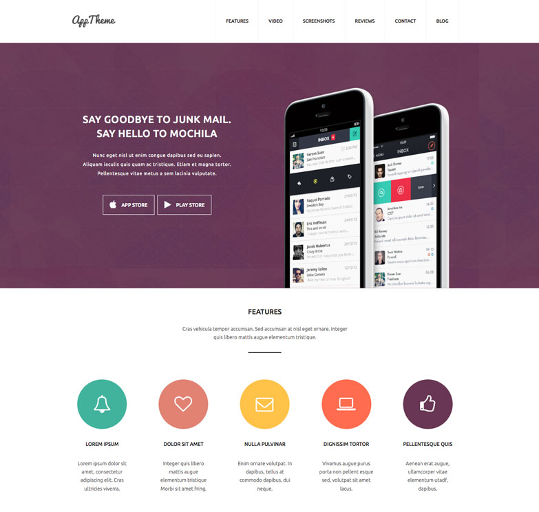 AppTheme WordPress theme