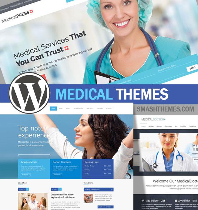 Best WordPress Medical Themes for Doctors, Clinics, Hospitals