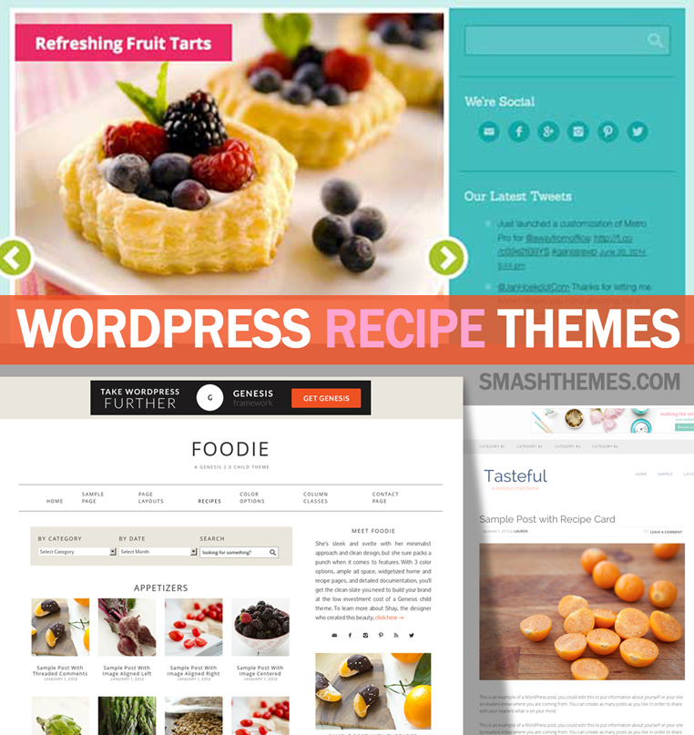 15 best wordpress food recipe themes 2014 smashthemes best wordpress recipe themes and food themes forumfinder Image collections