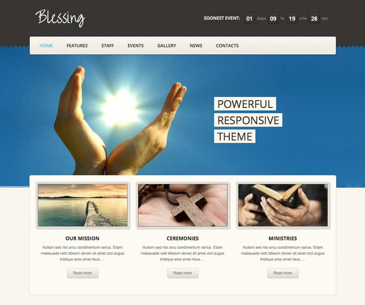 Blessing WordPress Theme