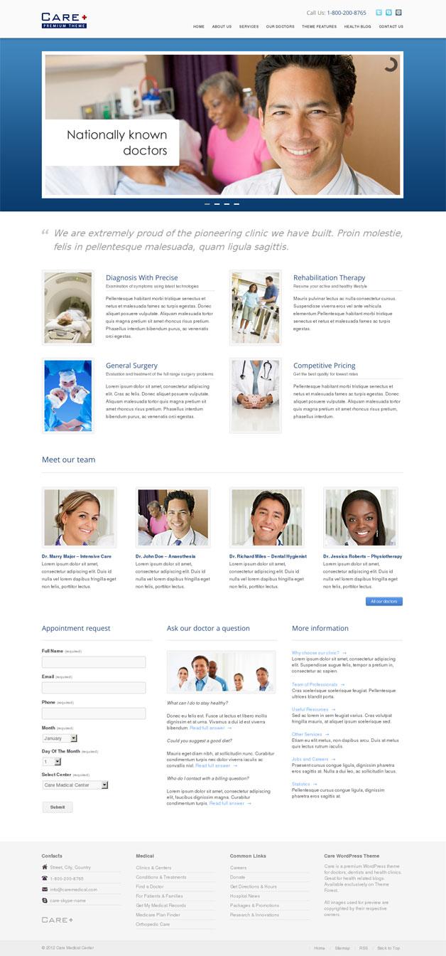 Care WordPress Theme