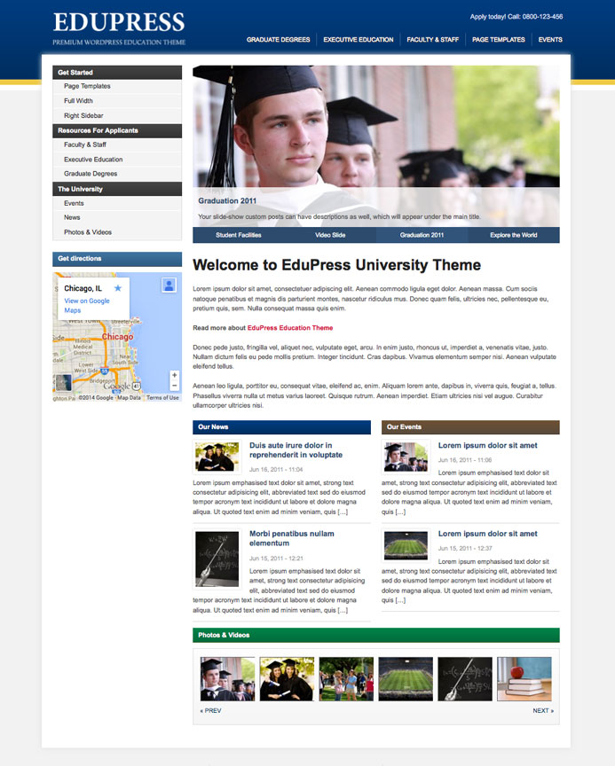 EduPress WP Theme