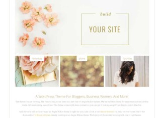 Honeycrisp WordPress Theme Angie Makes