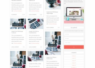 Pinspired WordPress Theme like Pinterest