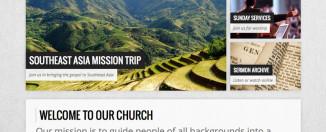 church wordpress theme resurrect light
