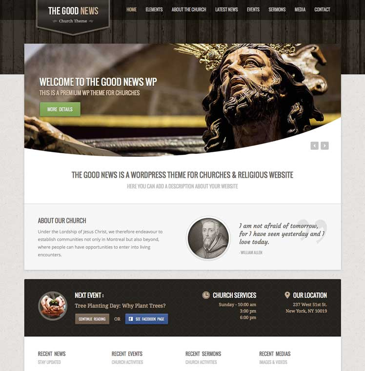 Risen WordPress Theme
