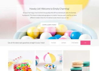 SimplyCharming SimplyCharming WordPress Theme